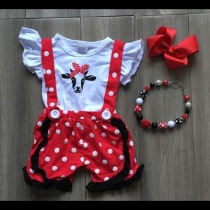 Infant and Toddler Boutique Outfit